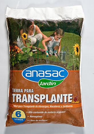 tierra para trasplante | anasac jardín