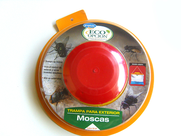 Trampa para moscas anasac jard n - Trampa casera para moscas ...