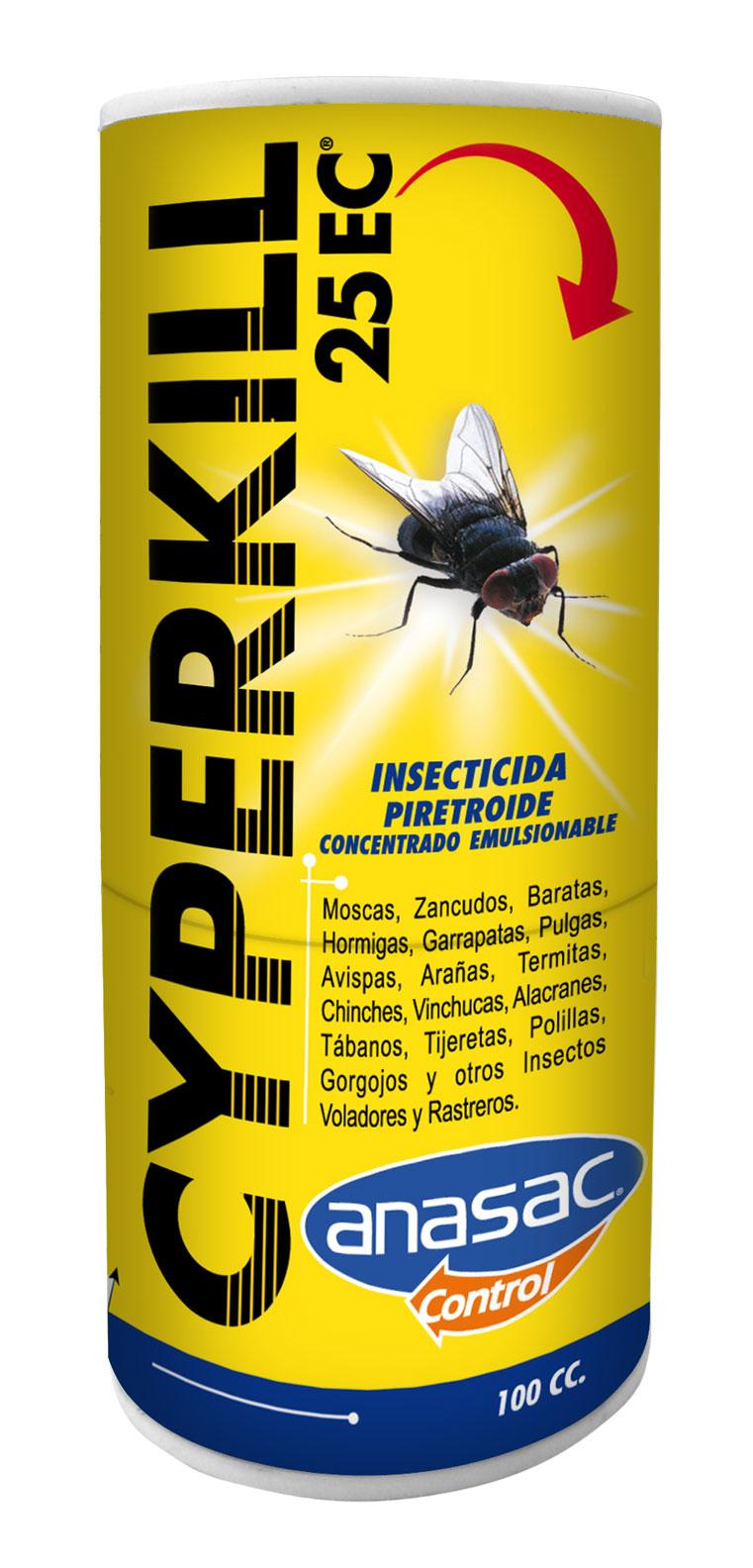 Insecticida Cyperkill 25 Ec Anasac Jard N ~ Como Eliminar Las Polillas De Casa